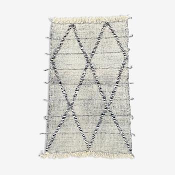 Tapis berbere kilim en laine 150x290 cm