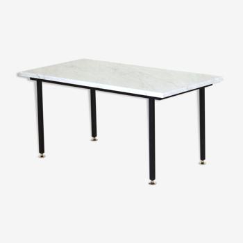 Table basse en marbre de Carrare 1960