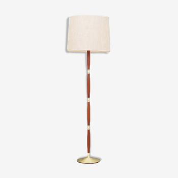 Lampadaire, design danois, années 60, fabriqué au Danemark