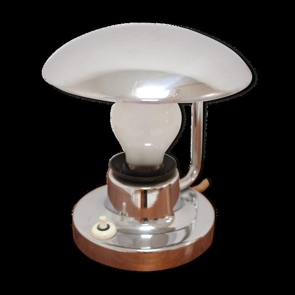 Lampe de table en laiton Big Bauhaus, années 1930