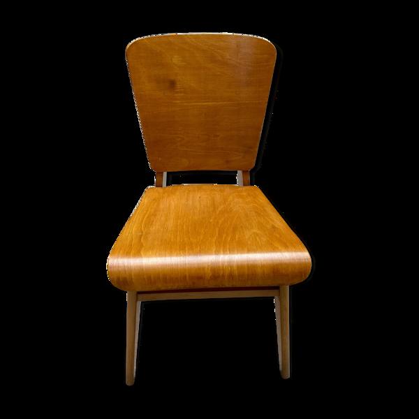 Selency Chaise variante du modèle « Tout bois » - Jean Prouvé