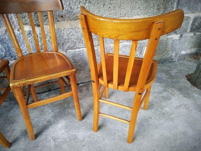 Série de six chaises bistrot Luterma
