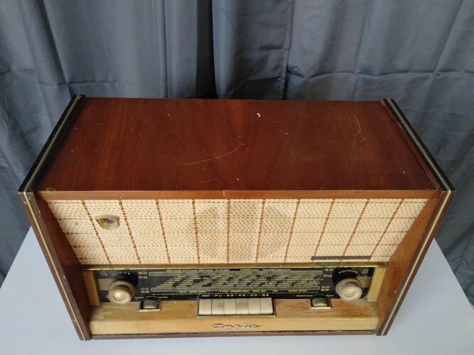 Radio TSF Amplix modèle Chenonceau 1958