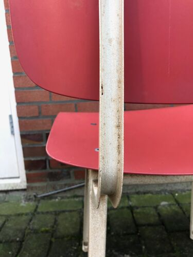 Suite de 4 chaises vintage Friso Kramer Revolt pour Ahrend de Cirkel années 1960