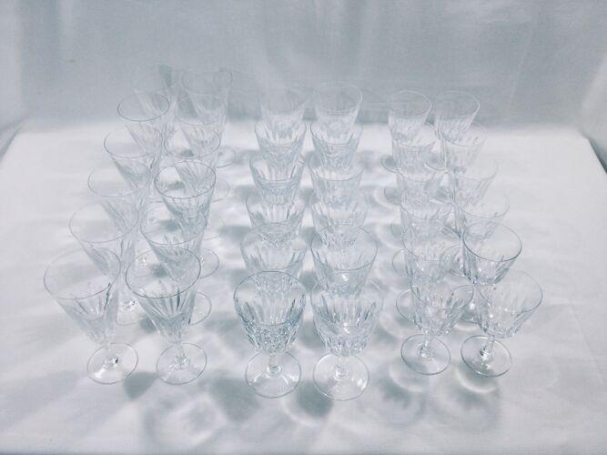 Service de verre modèle casino Baccarat