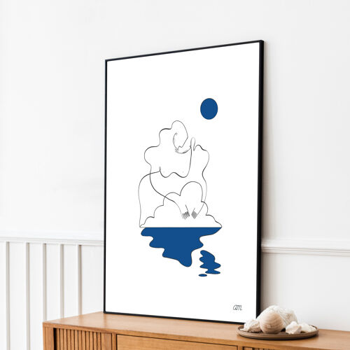 "Illustration n°08 "" Ondine "" collection "" L'éveil """