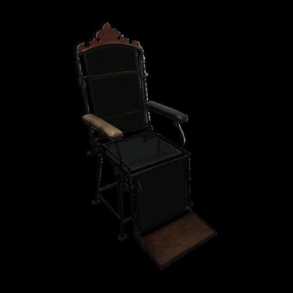 Fauteuil chaise longue, 1950's