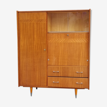 Wardrobe, secretary, chest of drawers, vintage, 50s - 60s