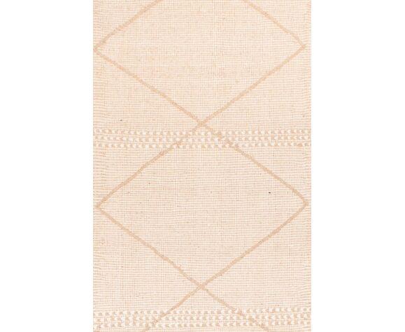Kilim zanafi ecru 247 x 78 cm