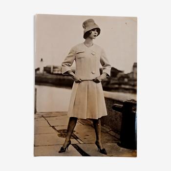 Photographie de mode originale, Paris, 1961