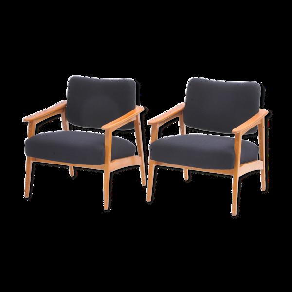 Paire de fauteuils Krásná Jizba