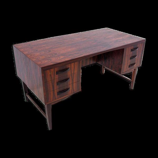 Bureau en bois de rose, design danois, années 1960