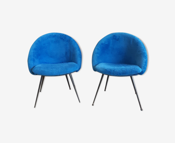 Pair of 60s cocktail chairs