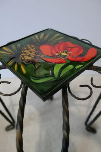 Porte plante Vallauris fer forgé