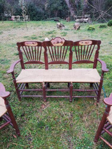 Ensemble de 2 fauteuils et canapé