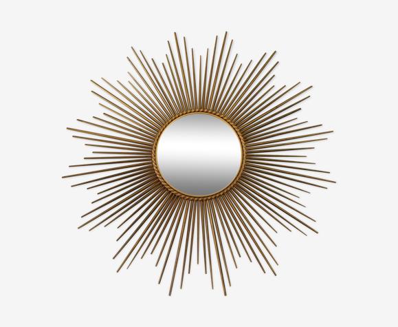 Miroir soleil Chaty Vallauris année 1950 96x96cm