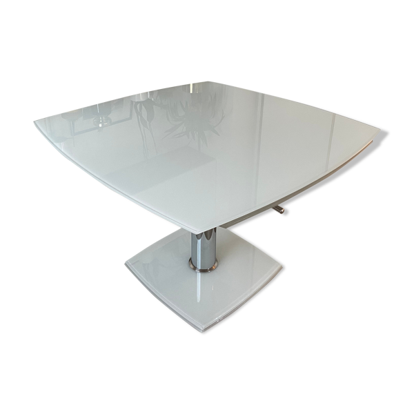 Table verre escamotable luxe up to 10 pax