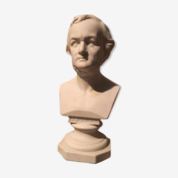 Buste R.Wagner en platre