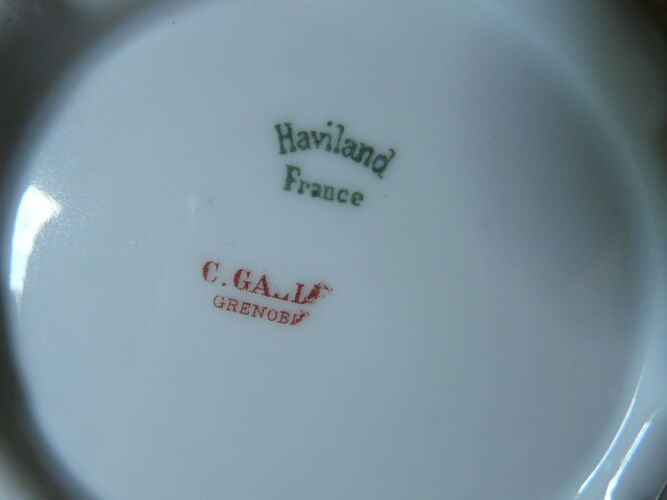 Haviland Limoges coffee service