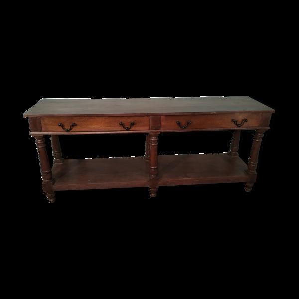 Table console de magasin