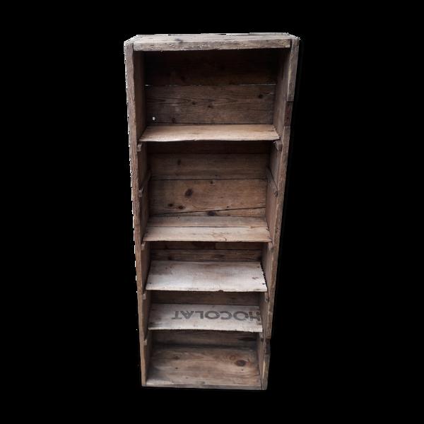 Étagère rustique artisanale en bois