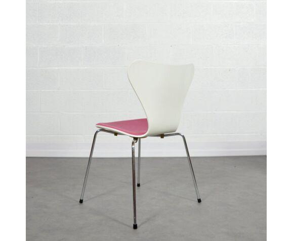 Chaise Arne Jacobsen pour Fritz Hansen 1991 vintage