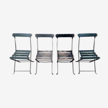 Chaises de jardin pliantes