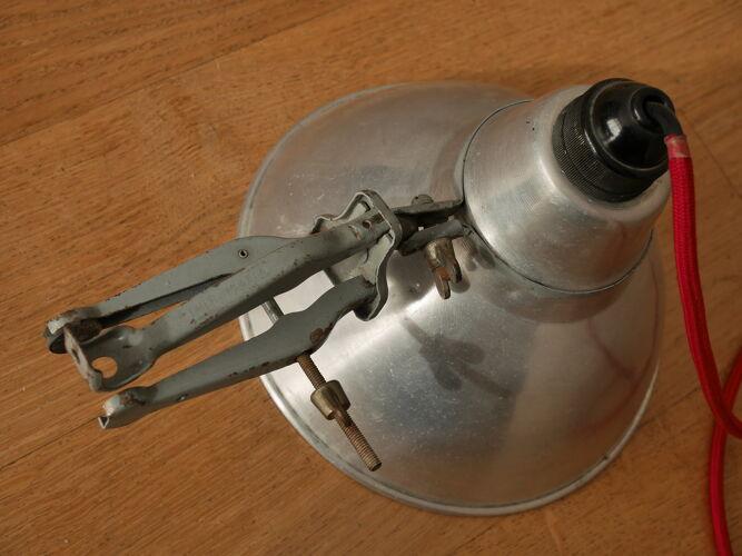 Lampe spot à pince Cremer années 50