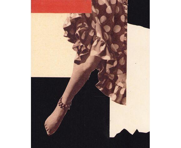 Collage la danseuse ii