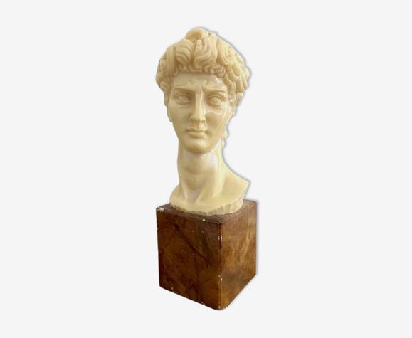 Buste tête de David