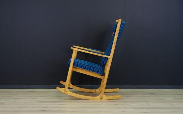 Rocking chair minimaliste Kurt Ostervig des années 70/80