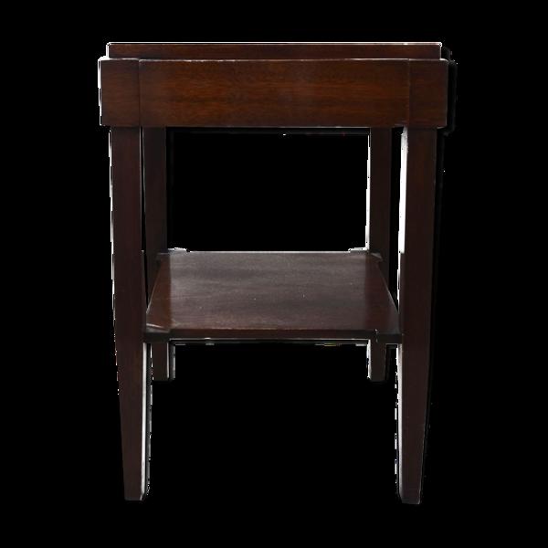 Selency Table de chevet Art déco palissandre époque 1930