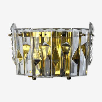 Applique Kinkeldey, 6 cristaux, Allemagne, 1970