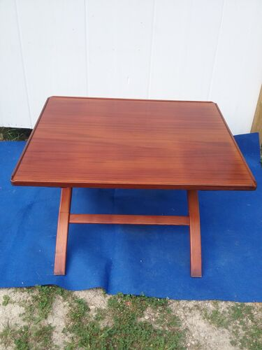 Table vintage a système