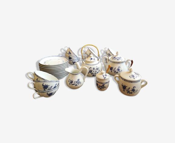 Service à thé  porcelaine de paris décor chine