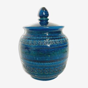Bitossi jar, container, vintage