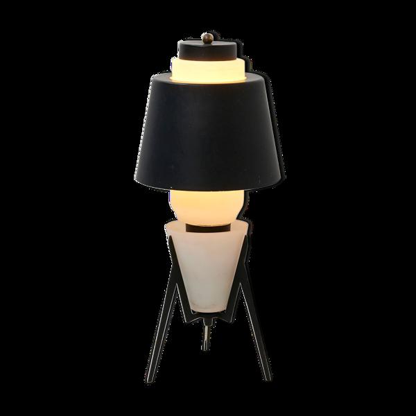 Lampe de table italienne en verre - années 1950