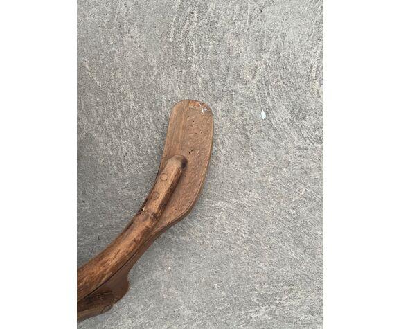 Fauteuil de bureau en bois