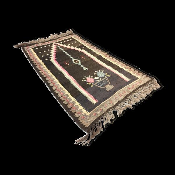 Tapis vintage turc kilim 125x79 cm