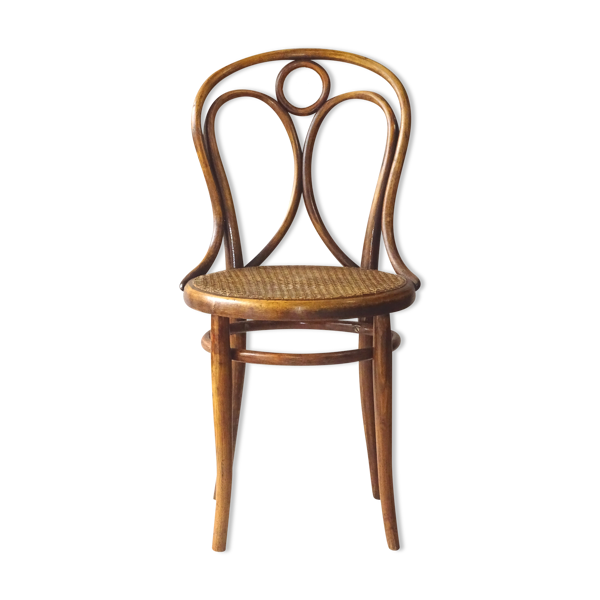 Chaise Thonet n° 19 cannage d'origine 1875/80 collector