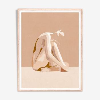 "Artwork ""Female nude"" - A3"