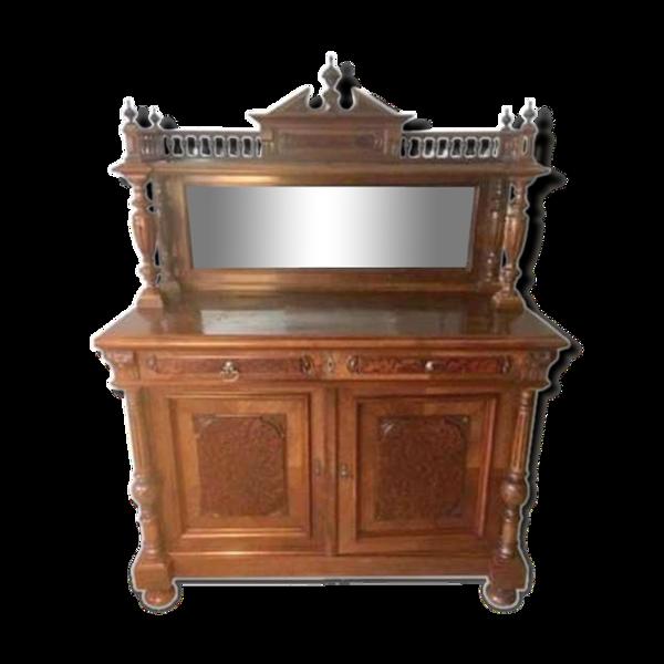Buffet de chasse ancien style Henri II néo-renaissance