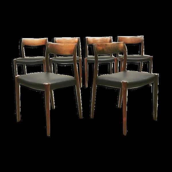 Chaises à manger de Niels O Moller Møbelfabrik