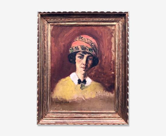 "Tableau "" la femme au turban"""