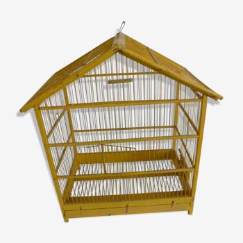 Cage centenaire en bois