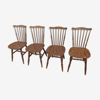 Set of 4 Baumann tacoma chairs