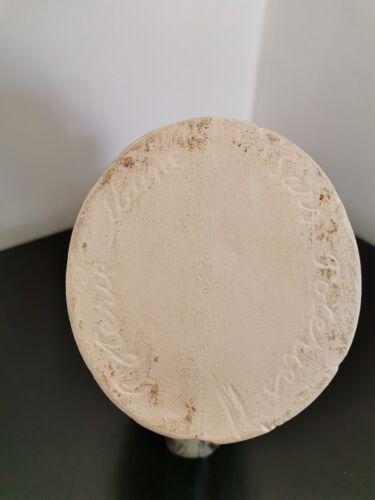 Pichet vase coq en céramique rouge