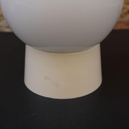 Applique en verre blanc
