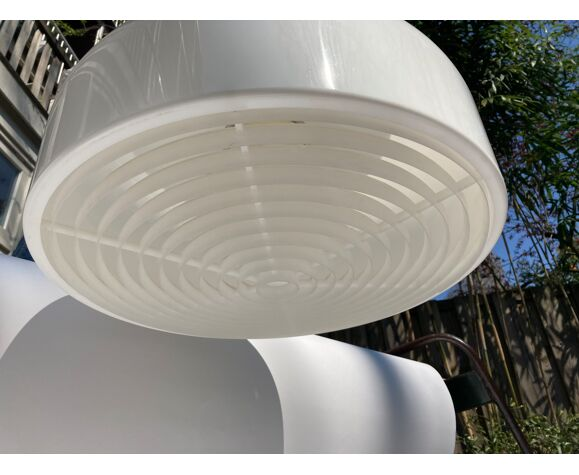 White pendant lamp by Anders Pehrson for Atelje Lyktan