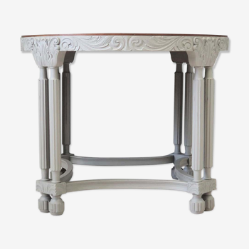 Table basse en chêne, années 40